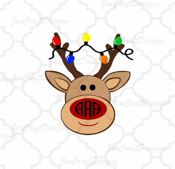 Reindeer svg Monogram frame This digital artwork can be used by cutting software, such as Cricut Design Space, Silhouette Studio, Sure Cuts A Lotand (SCAL) and Brother ScanNCut and other cutting software. The high quality files will cut cleanly and smoothly since they are