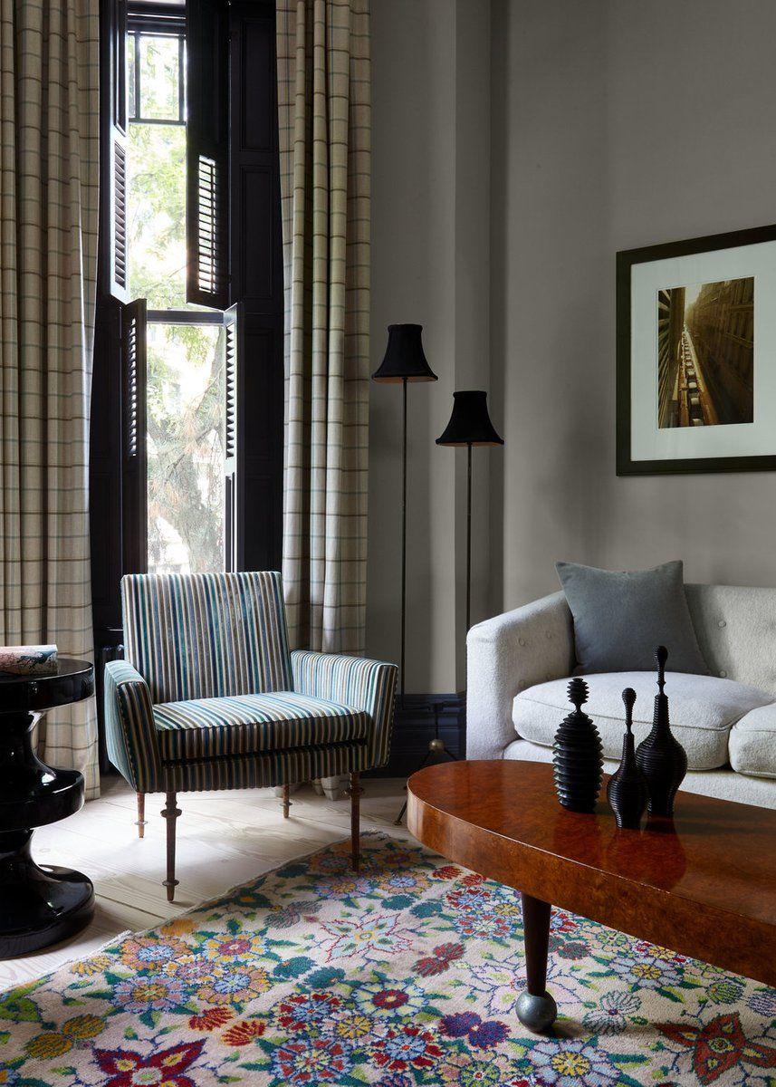 Townhouse Living Room Design: Living Room In , By Damon Liss Design
