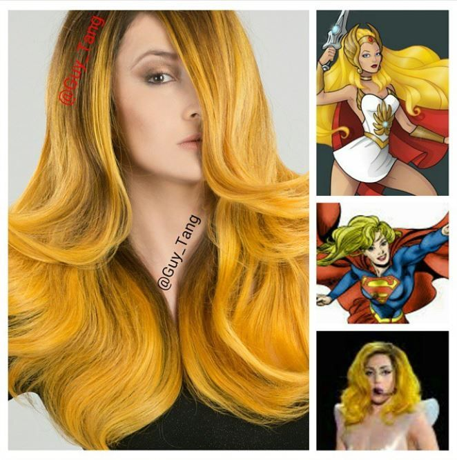 How To Golden Yellow Goddess Haircolor By Guy Tang Yellow Hair