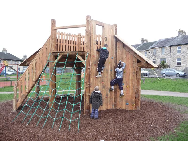 Outdoor Play Structure For Kids | Play Towers