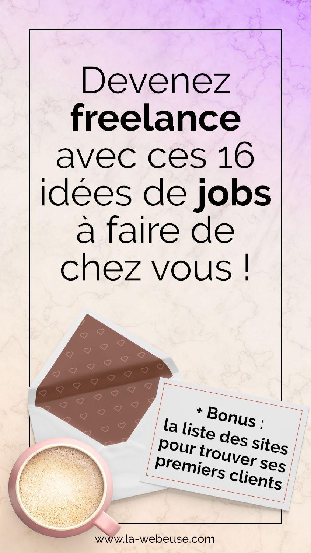 Travail à domicile : 10 idées pour devenir Freelance Web