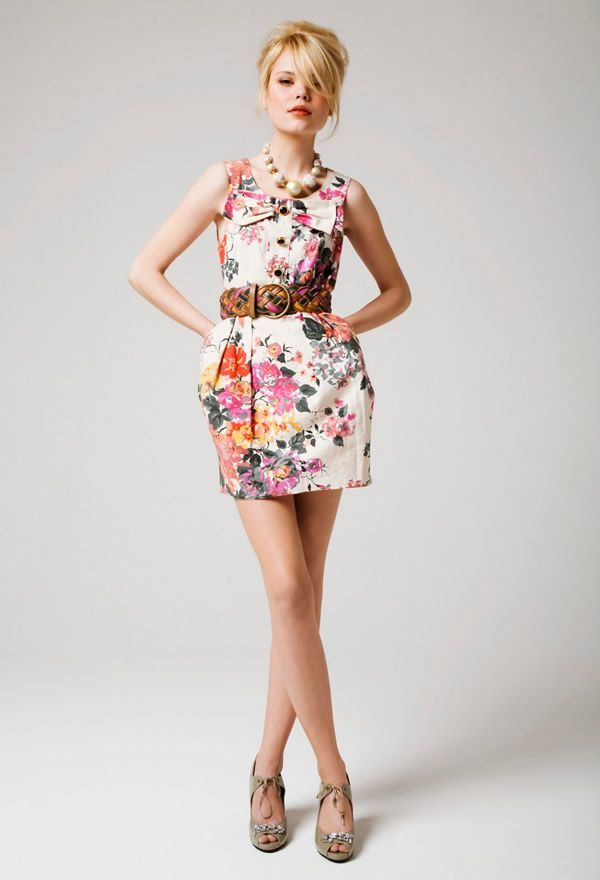 flower teen summer dresses 2011 Teenage Summer Dresses Fashion ...