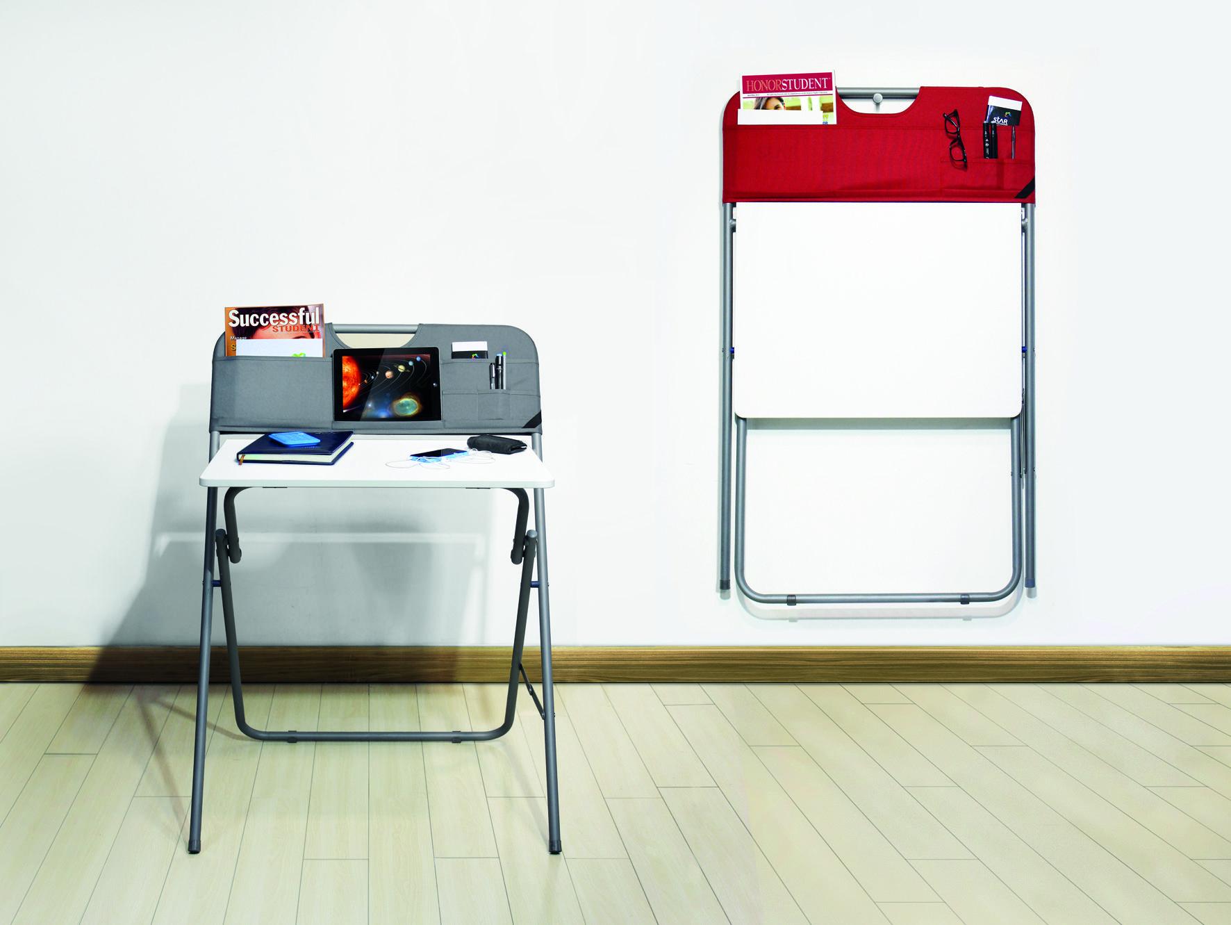 bureau pliant la maison by carrefour meubles pinterest smart desk desk et deco salon. Black Bedroom Furniture Sets. Home Design Ideas