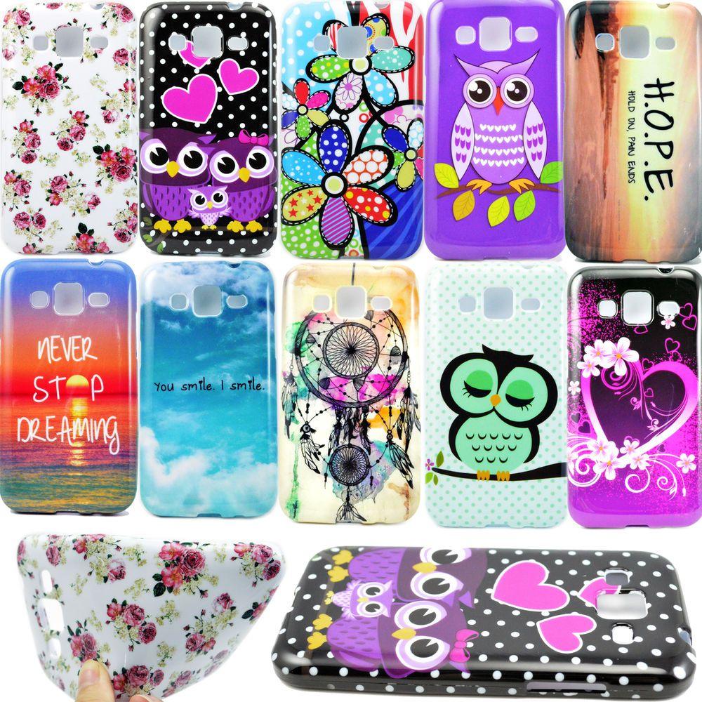 Célèbre TPU Silicone Soft Back Phone Skin Cover Case For Samsung Galaxy  KI94