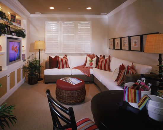 Cozy Tv Room Small