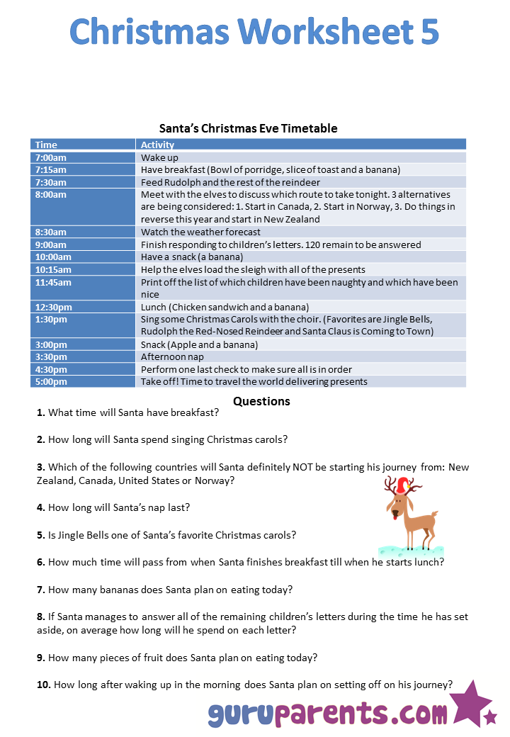 Christmas worksheet 5 | Learning | Pinterest | Worksheets and Activities