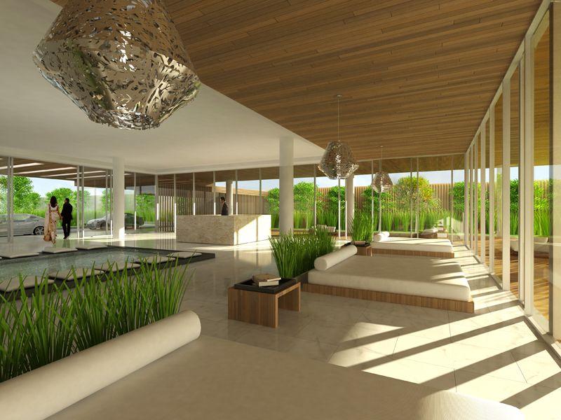 Residential Lobby | simple | Pinterest | Lobbies, Modern ...