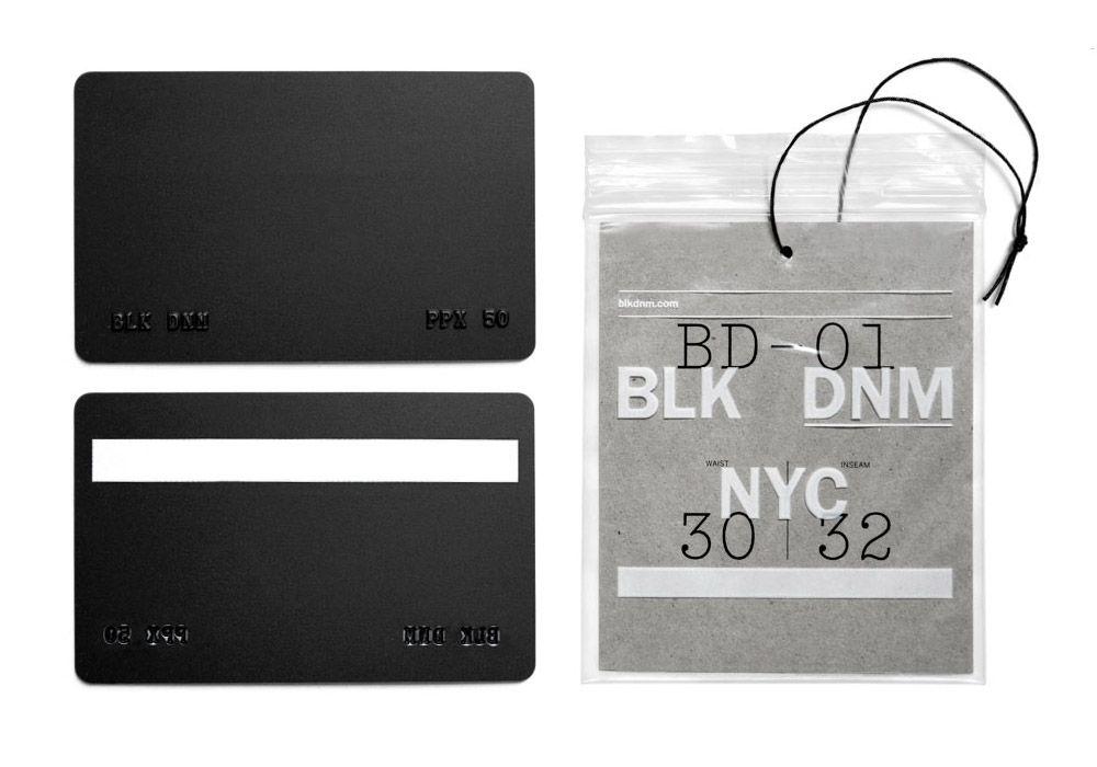 Nice black member card