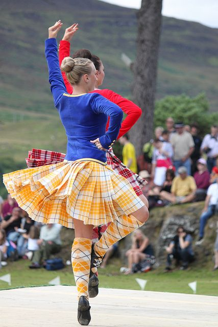 Irisch schottischer tanz