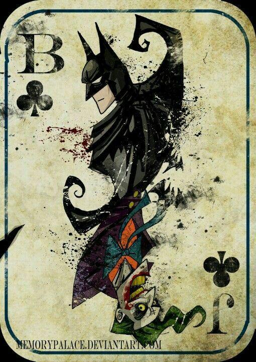 Carta Speciale Batman E Joker Cómics De Batman Cómics Y