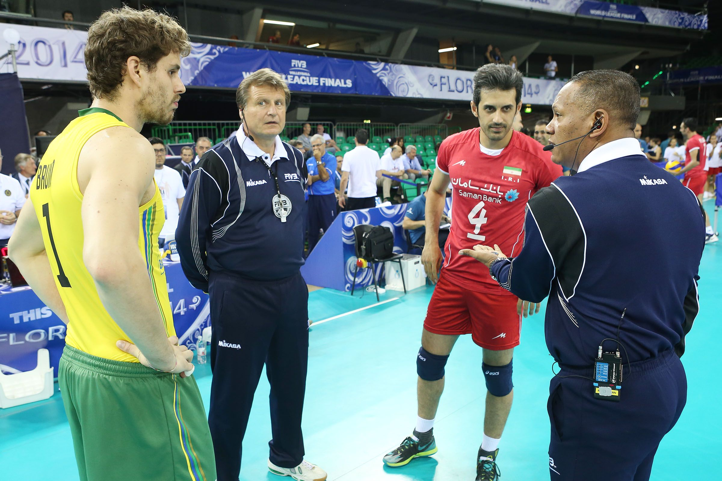 Iran Vs Brazil Final Round Volleyball World League 2014 Volleyball Sports Water Polo