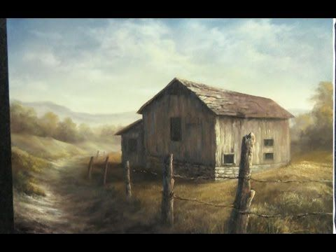 Paint with Kevin - Desert Barn - YouTube