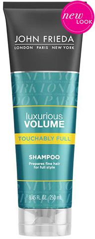Luxurious Volume Touchably Full Shampoo from the John Frieda® Hair Care experts