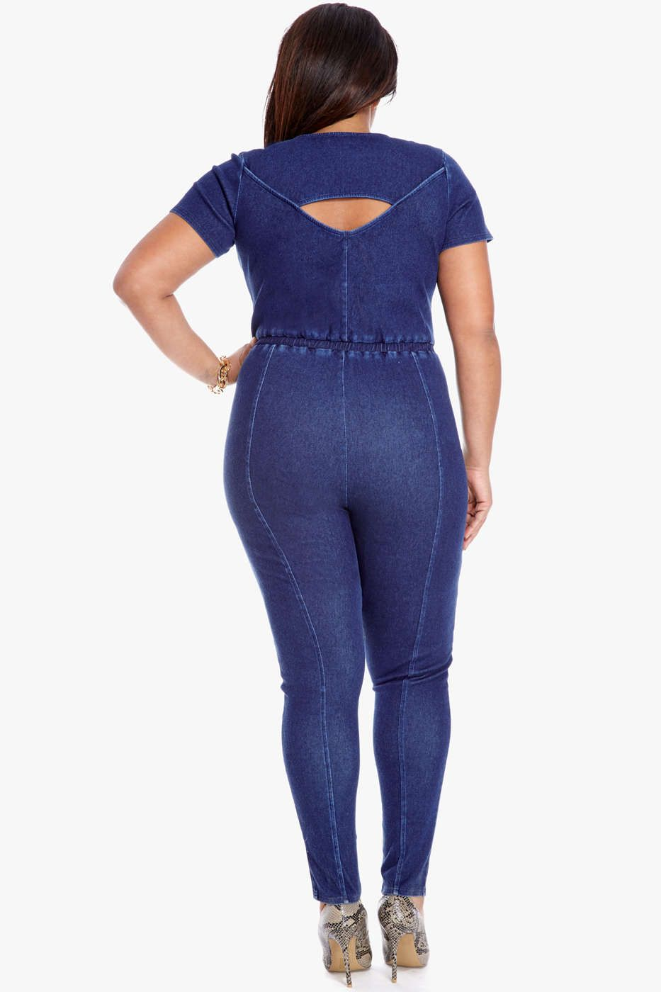 Cady Denim Jumpsuit