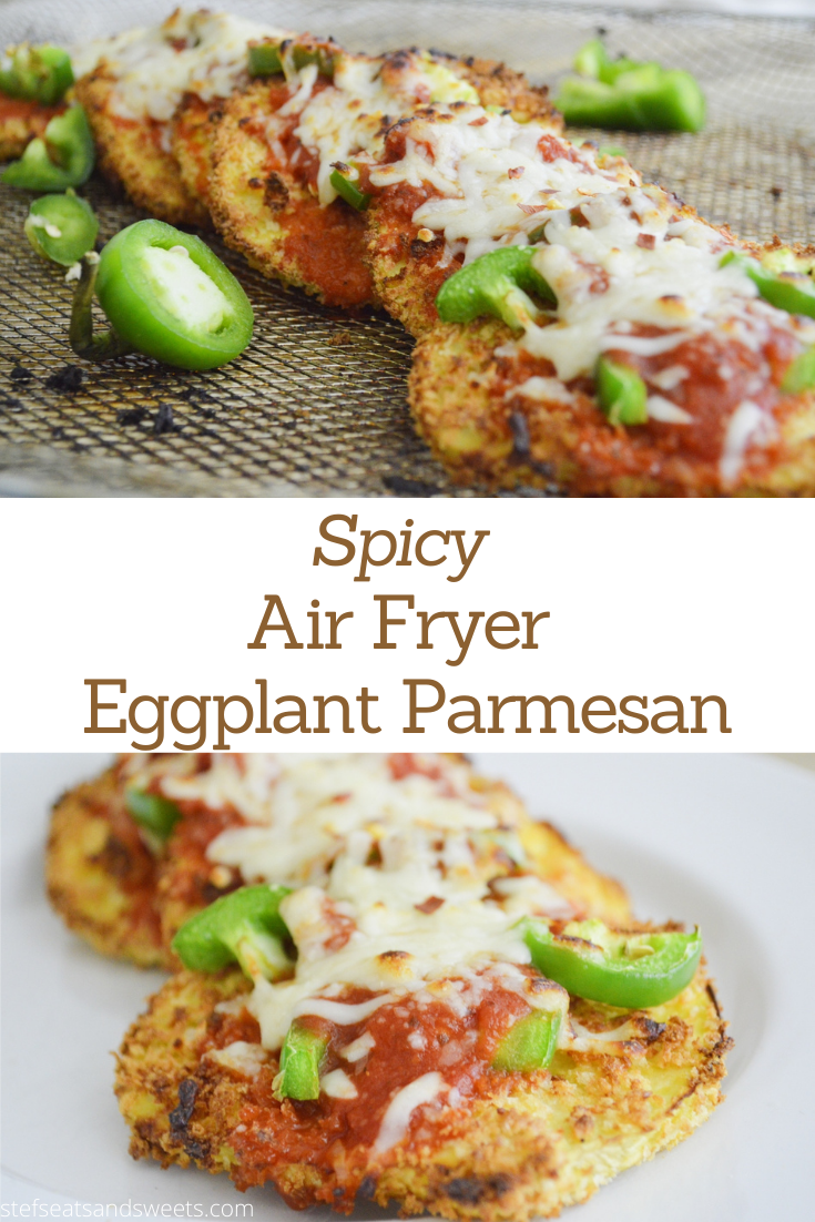 Air Fryer Eggplant Parmesan Recipe