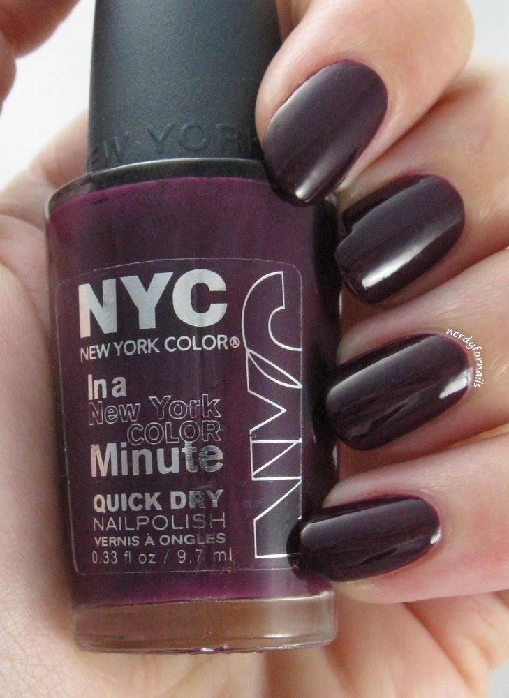 Nubbins- NYC Manhattan Swatch (from the time I broke a nail) | Nerdy ...