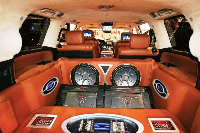 Image result for pimped car audio