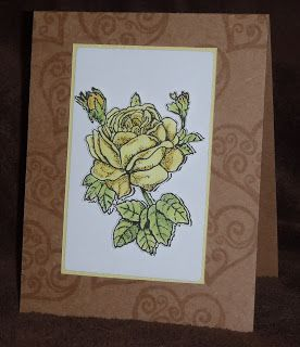 Mashed Potatoes and Crafts: Wedding Card Recipe from Veils and Vengeance