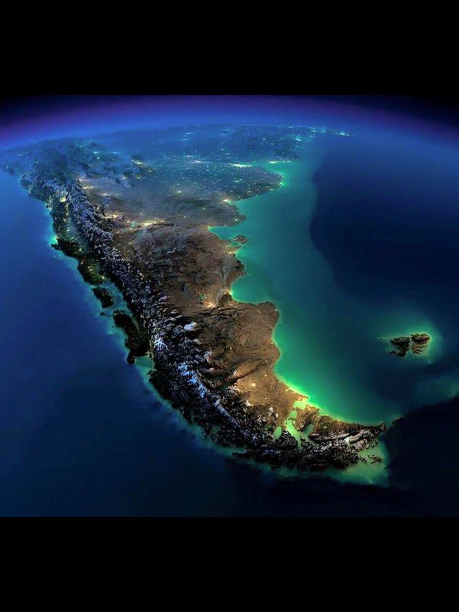 Vista Satelital Argentina Argentina In 2018 Pinterest Tierra
