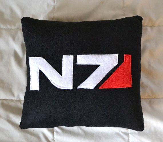 Mass Effect N7 Pillow/Plush