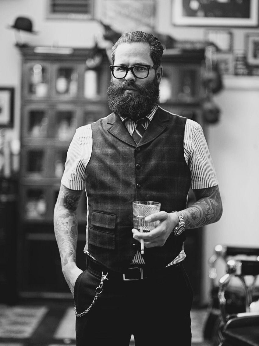 leen bearded bastard style
