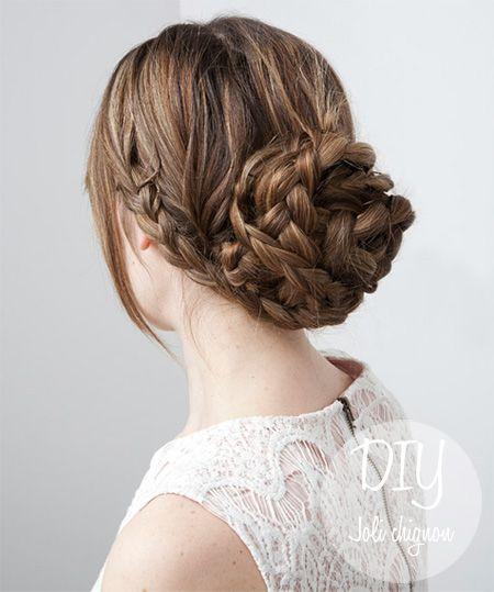 Coiffure mariage · chignon,tressé,cheveux,longs,bohème,décontracté