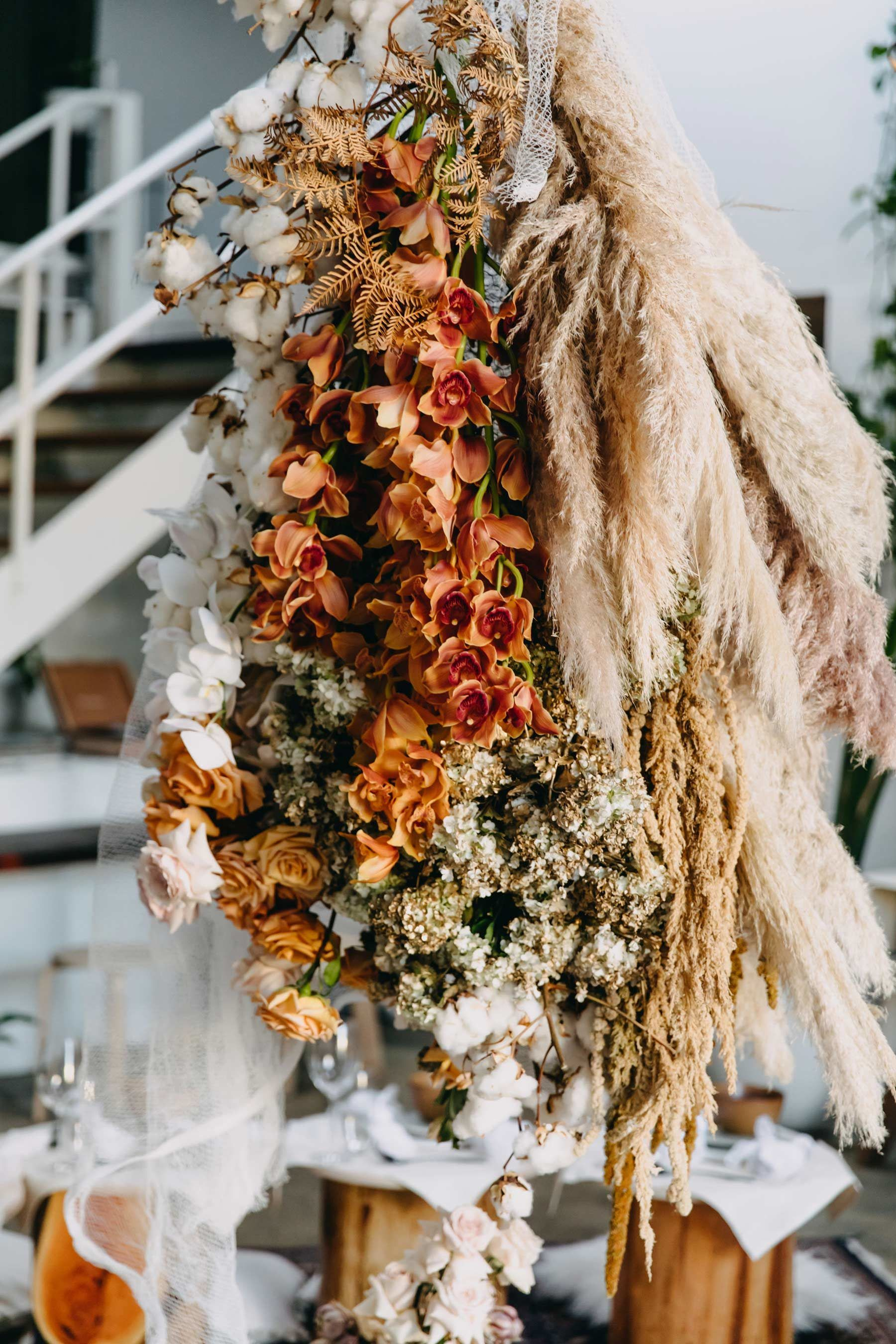 Freek Florals creative Perth wedding florist Fall