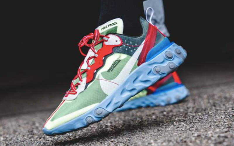 Undercover X Nike React Element 87 Volt Review Sneakers