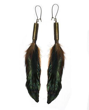 Eskell Feather Earrings