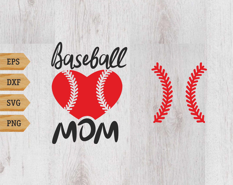 Baseball mom Baseball svg Baseball cutfile Baseball Etsy