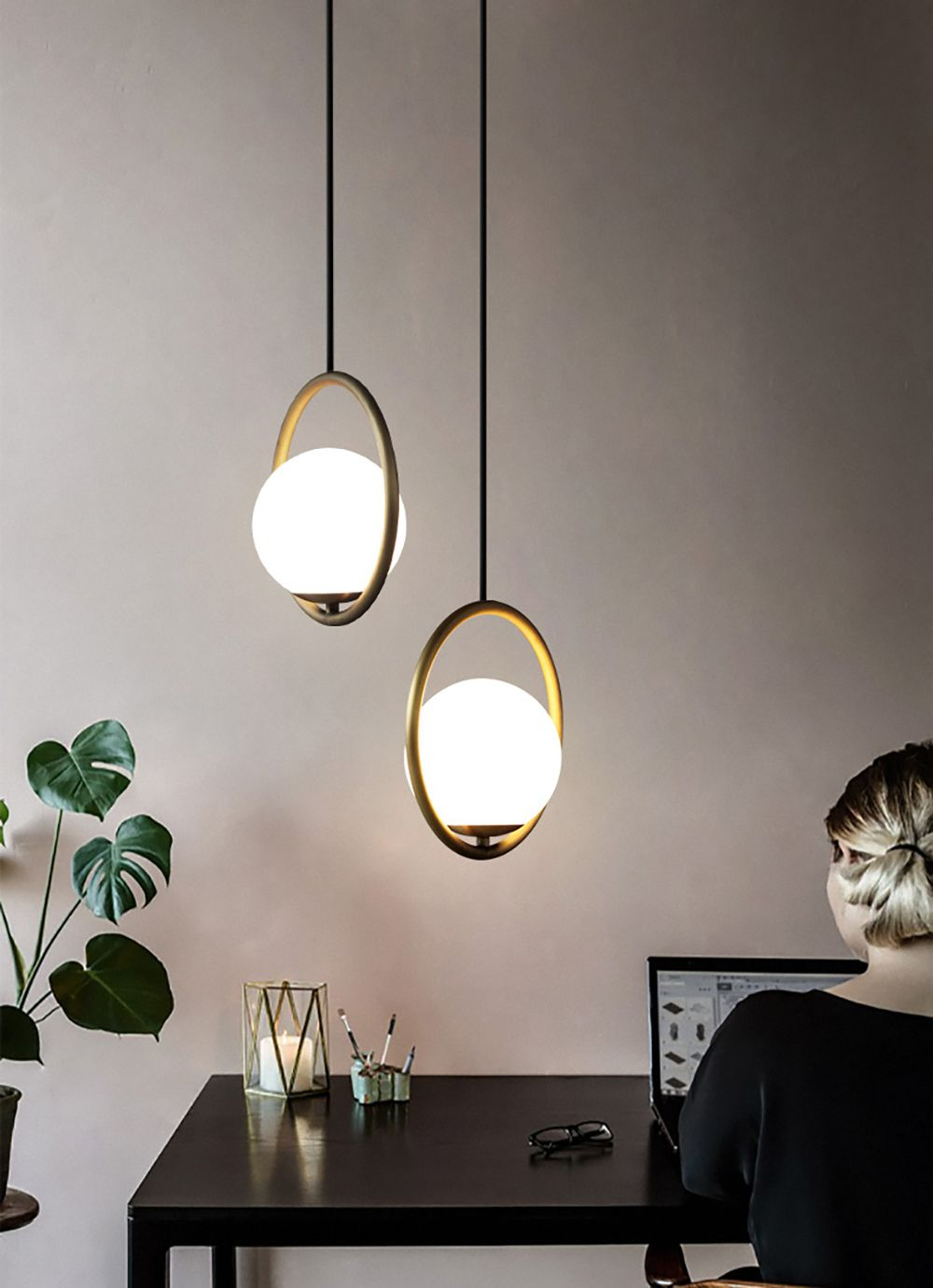 Mila pendant lamp in 2020 | Modern pendant light, Hanging