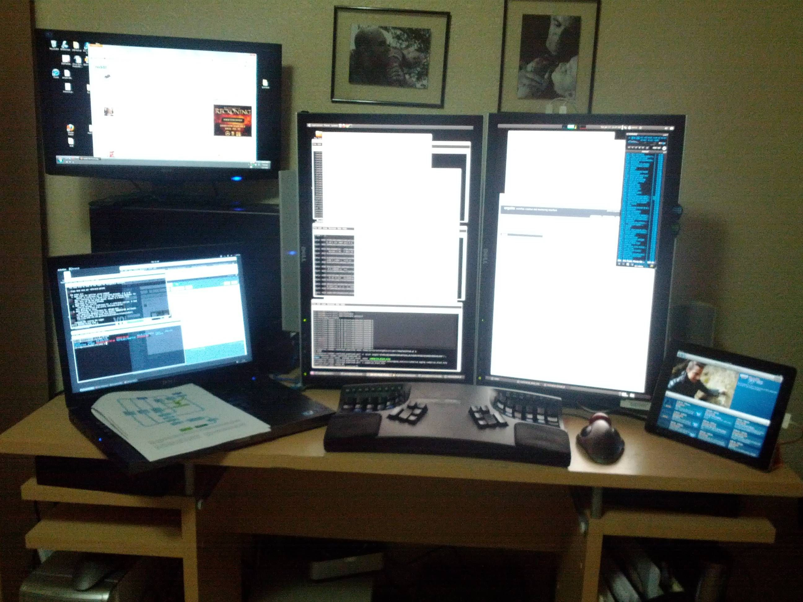 Captivating 💻Dual Monitors Home Office Ideas💻