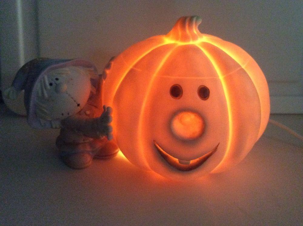 Bumpkins Scarecrow Pumpkin Halloween Figurine Fabrizio ...