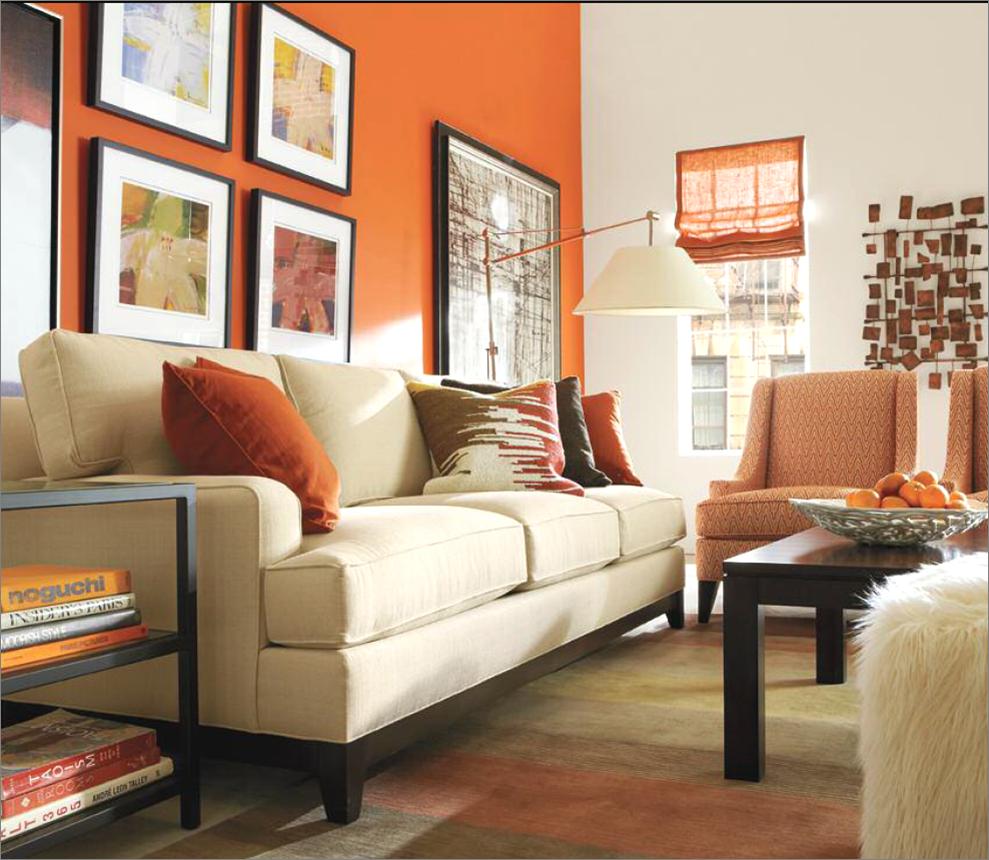 Ethan Allen Living Room Orange Rooms Home Decor Pinterest
