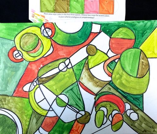 Cubist Lesson Plan Synthetic example Emily Jane Valenza School - lesson plan example