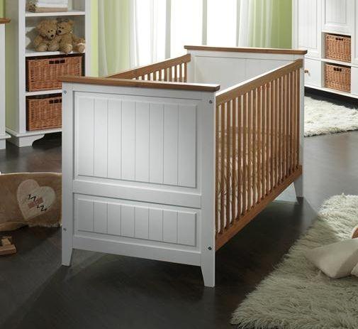 Bett Kiefer 145x79x88 weiß lackiert JESSICA Jetzt bestellen unter - schlafzimmer kiefer weiß