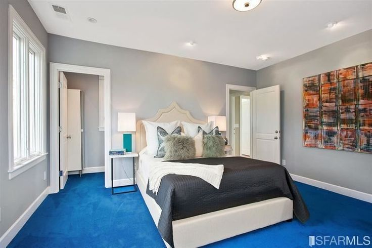 What Color Walls Go With Light Blue Carpet Blue Carpet Bedroom