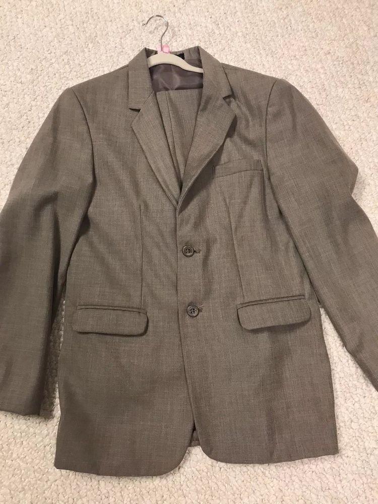 ba9e1053d Sean John Boys Light Brown Suit Size 16  fashion  clothing  shoes ...
