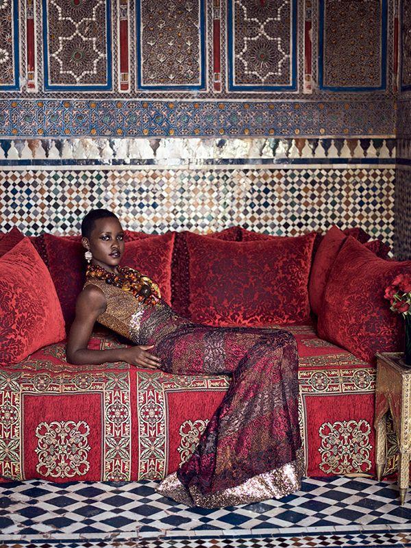 Lupita Nyong'o July 2014 Issue 9