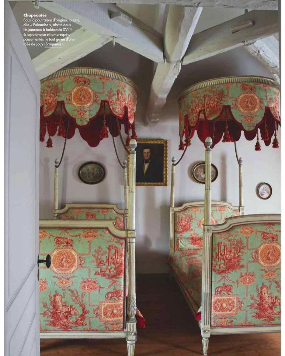 Home interior design royal les muses et le lion featured in elledecorationfr in a beautiful