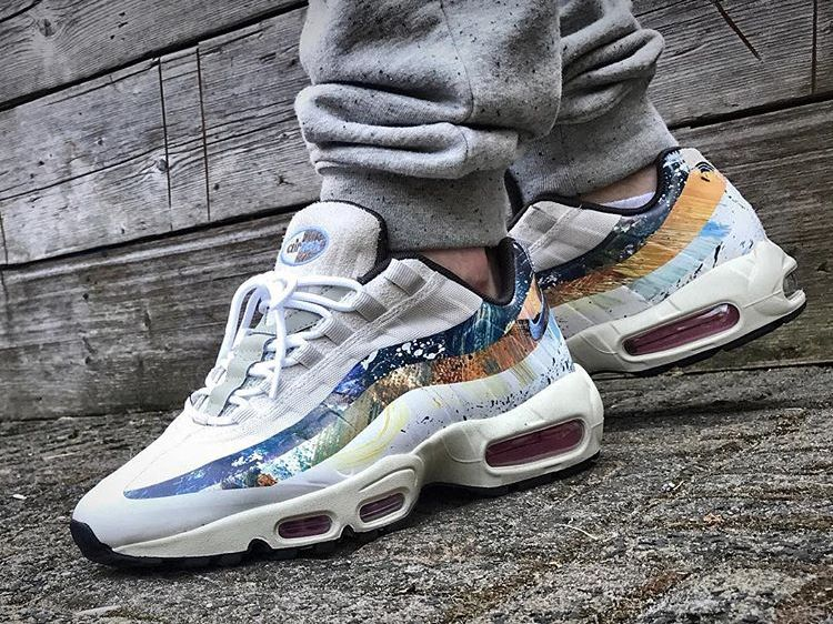 the best attitude 620ff 2a2d5 Dave White x x Nike Air Max 95  Conejo