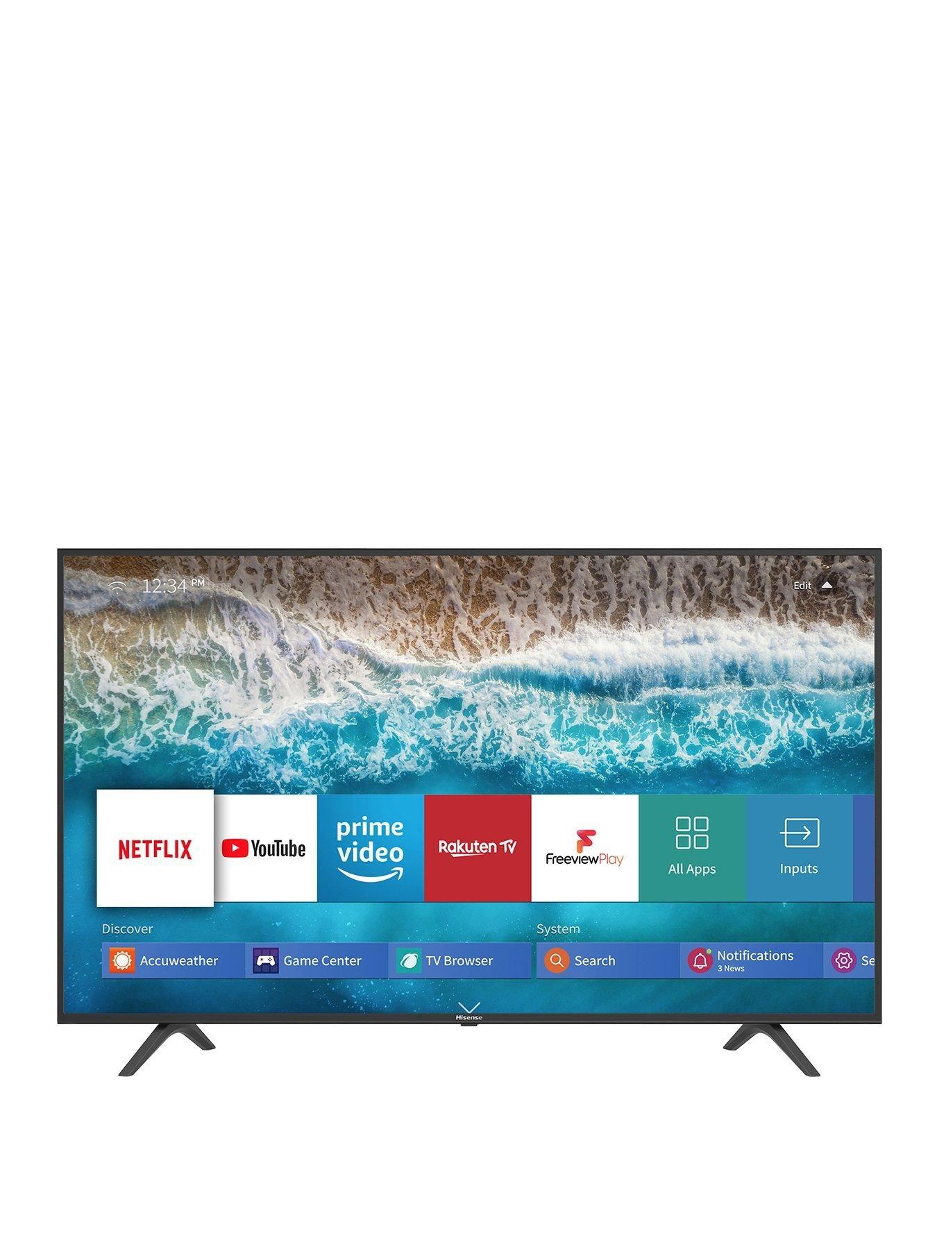 Hisense H55b7100uk 55 Inch 4k Ultra Hd Hdr Freeview Play Smart