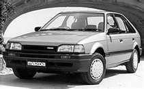 1988 Mazda 323 4 Door