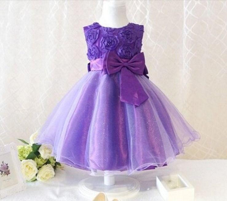 Lindo Vestido Infantil De Festa - R$ 109,90 no MercadoLivre ...