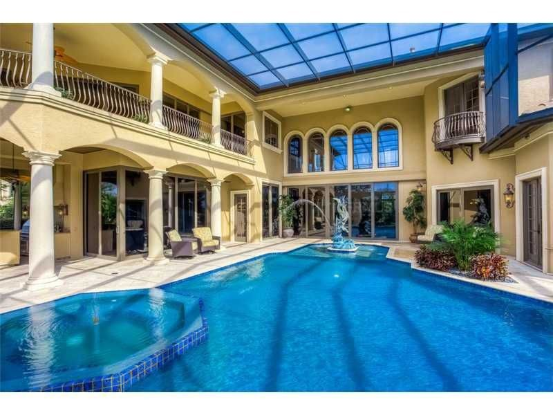 Home indoor pool and hot tub  45 Screened In, Covered and Indoor Pool Designs | Covered pool ...