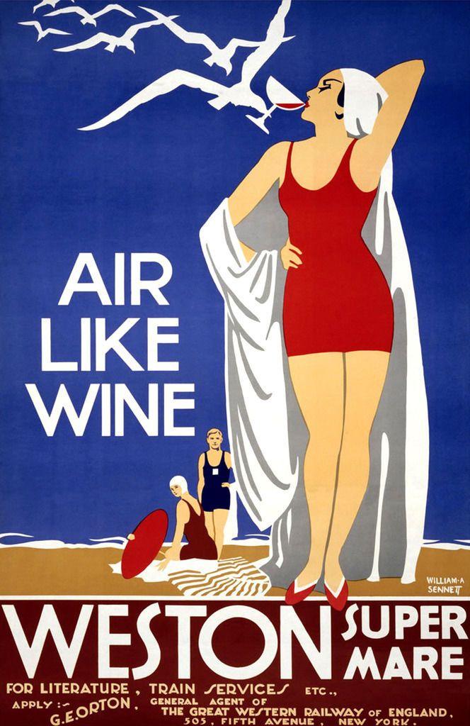 Cool Retro Travel Poster Framed Canvas Art Art Deco Beach England Uk 24x16 Ebay Retro Travel Poster Vintage Travel Posters Vintage Posters