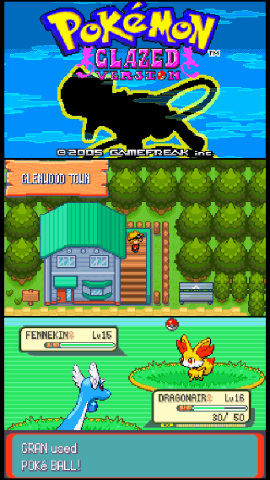 New pokemon games for gba