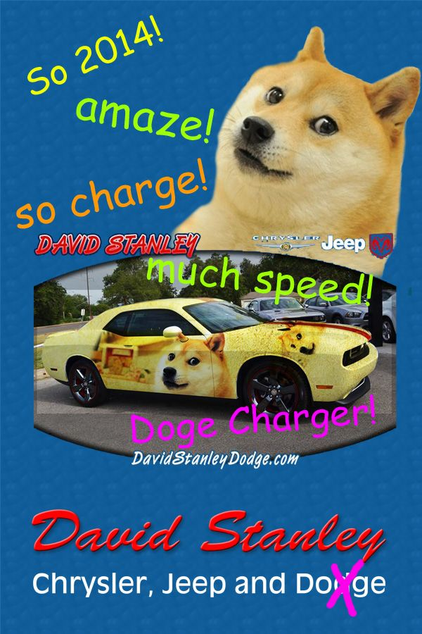 2014 #Doge Charger! From David Stanley Chrysler Jeep, U0026 #Doge. Much Speed!  So Charge! Wow! @Dodge #Dodge #DodgeCharger