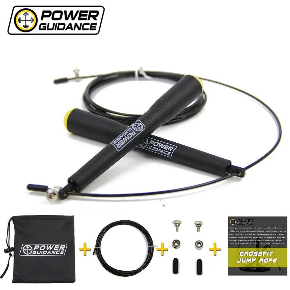 POWER GUIDANCE Speed Jump Rope Fitness 3M Wire Gym
