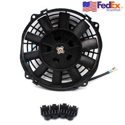 Advertisement Ebay 8 80w Motorcycle Atv Electric Cooling Fan
